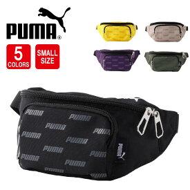 プーマ PUMA   ナイロン ウエストバッグ 斜めがけ ショルダーバッグ アウトドア フェス 軽量 ギフト プレゼント
