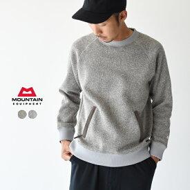 マウンテンイクイップメント/MOUNTAIN EQUIPMENT ニットフリースセーター スウェット プルオーバー/ Knit Fleece Sweater クルーネックトレーナー レディース/メンズ 2019秋冬 トップス 425134 0725