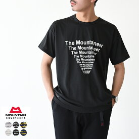 マウンテンイクイップメント MOUNTAIN EQUIPMENT グラフィック Tシャツ Graphic Tee 吸汗速乾 半袖 カットソー クイックドライ ・425740・425742 2019春夏新作 【メール便可】 #0417