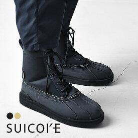 スイコック SUICOKE 防水 ウォータープルーフ レースアップ ショート ブーツ レインシューズ レディース メンズ 2020秋冬 靴 23.0cm-29.0cm ALAL-wpab OG-197wpab【送料無料】 0607