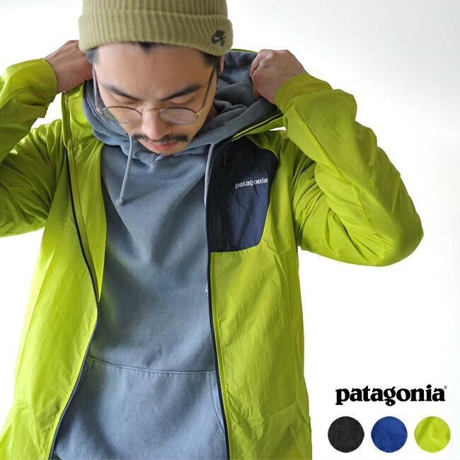 2018春夏新作 patagonia パタゴニア Men's Houdini Jacket メンズフーディニジャケット スポーティー アウトドアシェルジャケット ・24141 #0204