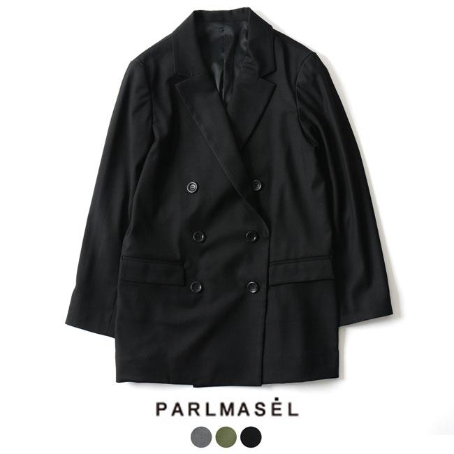 【アウトレット】【SALE!30%OFF】PARLMASEL パールマシェール ダブルボタン テーラードジャケット ・L-9073#0905【セール】【返品交換不可】【SALE】