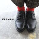 クレマン KLEMAN ダノン DANON レディース レザー レースアップ プレーントゥシューズ 2019秋冬 【送料無料】 1020