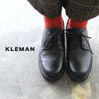 クレマン KLEMAN ダノン DANON レディース レザー レースアップ プレーントゥシューズ 【送料無料】 1020