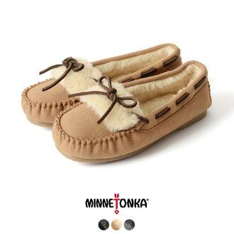 minnetonka Mine Tonka synthetic khloe2 slipper / synthetic Kuroe's ripper fur moccasins shoes #0901 in the fall and winter latest 2017