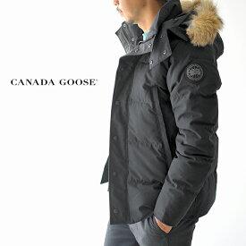 カナダグース/CANADA GOOSE メンズ ウィンダムパーカー ブラックラベル/WYNDHAM PARKA FF BLACK LABEL ファーフードダウンジャケット 2019秋冬 ダウン 3808MB 【送料無料】 【先行予約】 0616