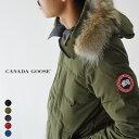 カナダグース/CANADA GOOSE メンズ カーソンパーカー/CARSON PARKA FF フードファー ダウンジャケット 2019秋冬 ダウ…