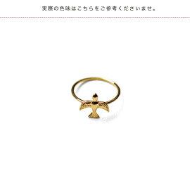 2018秋冬新作MARIHAマリハ青い鳥ゴールドリング指輪11号・1101830040199【送料無料】