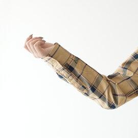 グランマママドーター/GRANDMAMAMADAUGHTERフリルカラーチェックシャツレディース2019秋冬ブラウスGS932041【先行予約】【送料無料】【クーポン対象外】