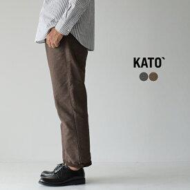 カトー/KATO` ピンストライプ テーパード パンツ メンズ 2019秋冬 ボトムス KP933691 【送料無料】 0903