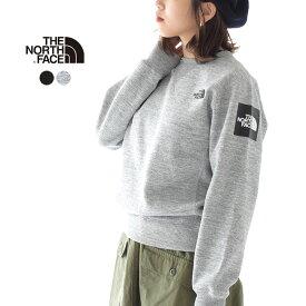 ザ ノースフェイス/THE NORTH FACE スクエア ロゴ クルーネック スウェット/Square Logo Crew トレーナー シンプル レディース/メンズ 2019秋冬 トップス NT61931 1002