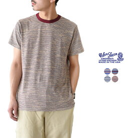 ベルバシーン Velva Sheen BACK TO 90's カットソー クルーネック ボーダー Tシャツ 半袖 ・161912・161913・161915・161916 #0410