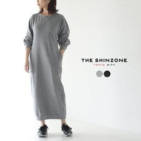 シンゾーン/The Shinzone マンハッタン スウェット ドレス/MANHATTAN SWEAT DRESS クルーネック プルオーバー ロング丈 ワンピース レディース 2020春夏 ワンピース 20SMSCU05 【送料無料】0122