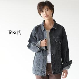 ヤヌーク/YANUK オーバーサイズ ジーンズ ジャケット/Oversize Jean Jacket ワイドシルエット デニム ジャケット レディース 2020春夏 アウター 57194389 1224
