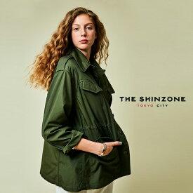 シンゾーン/The Shinzone フィールド ジャケット/フィールドジャケット ワイドシルエット 2way ミリタリージャケット レディース 2020春夏 アウター 20SMSJK03 【送料無料】0129