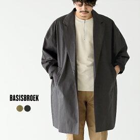 バージスブルック BASISBROEK レオン LEON オーバーサイズ テーラード シングルボタン コート ドロップショルダー メンズ 2020春夏 アウター 【送料無料】 0317