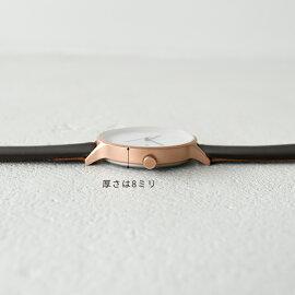 INSTRMNTインストゥルメントレザーストラップリストウォッチ/腕時計・2980(unisex)【2016秋冬】【送料無料】