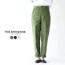 シンゾーン/Shinzone ベイカーパンツ/BAKER PANTS ハイウエスト センタープレス パンツ スラックス レディース 2020春夏 ボトムス 15AMSPA18 【送料無料】 0316