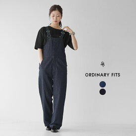 オーディナリーフィッツ デニム オーバーオール サロペット レディース 2021春夏 ワーク シンプル 日本製 インディゴ ブルー OF-O024 ORDINARY FITS デューク オーバーオール DUKE OVERALL 【送料無料】0204