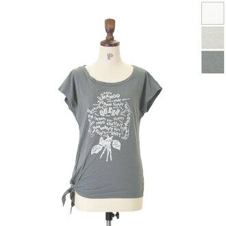Kha:Ki khaki side tie dolman tee and printed Dolman tee shirts & mil-cs17 (3 colors) (M-L)