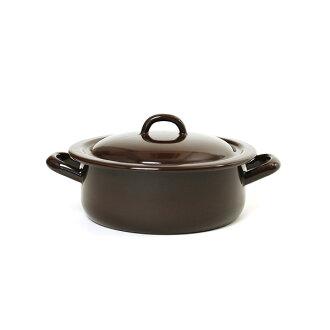 RIESS lease stew pot 18cm 1.5L/ stew pot brown series .0239.0255