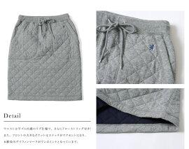 Gymphlexジムフレックスキルティングスウェットスカート・j-1131(全2色)(M)【2014秋冬】