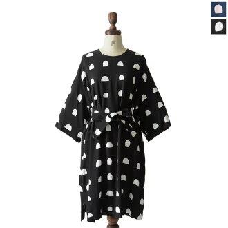 附帶marimekko marimekko Italia意大利/Firenze皮帶的連衣裙.5萬2154-1-43042(全2色)(S·M)
