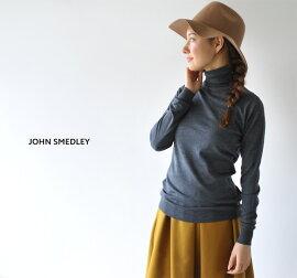 JOHNSMEDLEYジョンスメドレーCATKIN/タートルネックファインゲージニット(全18色)(S・M)【2014秋冬】
