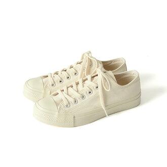 KATO`×MOONSTAR加圖×MOONSTAR帆布運動鞋素色鞋mnss01601