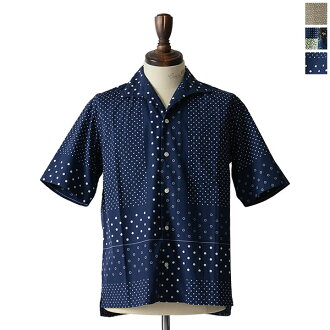 卡普泰因陽光船長陽光假期 SS 襯衫度假義大利顏色風格頭巾列印短袖襯衫,ks6ssh11 0824 樂天卡司
