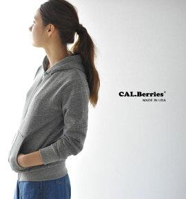 CAL.Berriesカルベリーズ裏起毛ジップアップパーカー・35tf001(unisex)【2016秋冬】