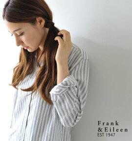 Frank&EileenフランクアンドアイリーンEILEENCOTTON/コットンボックスシルエットシャツ・511070181・182・184・186(全4色)(XXS・XS・S)【2015春夏】
