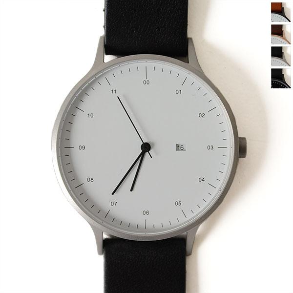 【ポイント最大47倍】INSTRMNT インストゥルメント レザーストラップ リストウォッチ アナログ腕時計・2980 (ユニセックス)【送料無料】