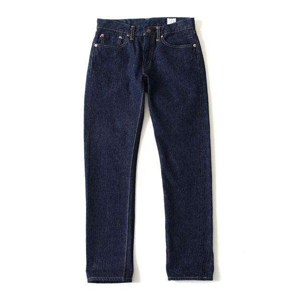 【ポイント最大30倍】orSlow オアスロウ ivy fit jeans ワンウォッシュ オリジナル セルヴィッチデニム ストレート・01-0107-81・00-0107-81 【送料無料】