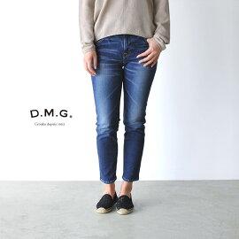 D.M.G(DMG)ドミンゴ5PアンクルスリムデニムUSED・13-761d-28(SS・S・M・L)【2015春夏】[P19May15]