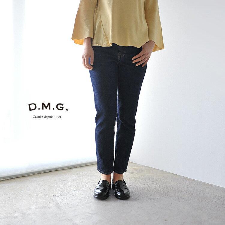 【ポイント最大30倍】DMG D.M.G ドミンゴ 5Pアンクルスリム ストレッチデニム ワンウォッシュ・13-761d-29