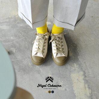 2017春天夏天新作品Nigel Cabourn奈杰爾K波恩ARMY TRAINERS LOW TOP陸軍教導員低最高層帆布低切運動鞋鞋.80340862000.80340062000(男女兩用)#0417