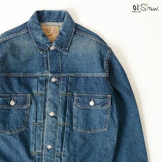 orSlow或低下50's DENIM JACKET 50s復古粗斜紋布茄克.01-6002#0923