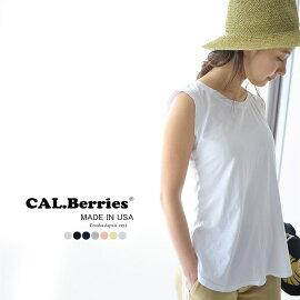 CAL.BerriesカルベリーズCOASTALTEE/ノースリーブカットソー・3540j001(全3色)(S)【2015秋冬】