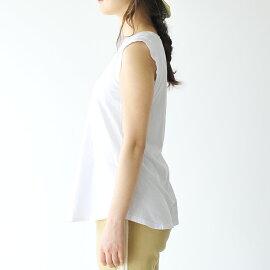2017春夏新作CAL.BerriesカルベリーズCOASTALTEEノースリーブ半袖カットソー無地Tシャツ・3540j001【メール便可】#0303
