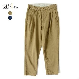 orslow 斯洛比利吉恩奇诺 / 比利 · 圆锥千野忠男裤-00-5560 (2 颜色) (S、 M、 L) [10P12Oct15]