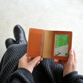 ilbisonteイルビゾンテ二つ折りレザーパスケース・411619(全9色)(unisex)【2012秋冬】