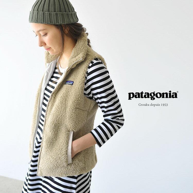【国内正規販売店】 patagonia パタゴニア WOMEN'S Los Gatos Fleece Vest ロスガトス フリースボアベスト・25216 【送料無料】 #1002