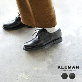 KLEMANクレマンDANON/レザープレーントゥシューズ(全3色)【2014秋冬】
