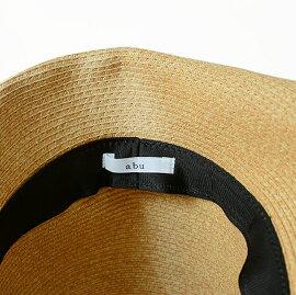【先行予約!2018年3月中旬よりお届け予定】2018春夏新作abuアブPLATEHATゴールドプレートナチュラルペーパーハット帽子・nh-010