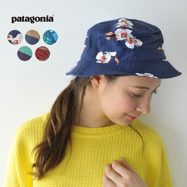【ポイント最大47倍】2018春夏新作 patagonia パタゴニア Wavefarer Bucket Hat ウェーブフェアラーバケツハット 50+UPF・29156【メール便可】 #0214