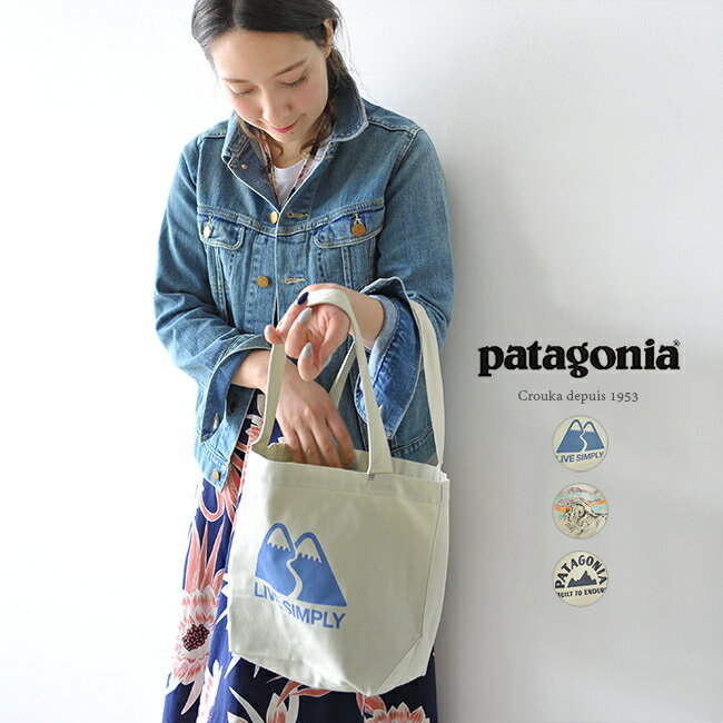 【ポイント最大46倍】patagonia パタゴニア Mini Tote ロゴプリント ミニ トート ・59275 【メール便可】 #0309