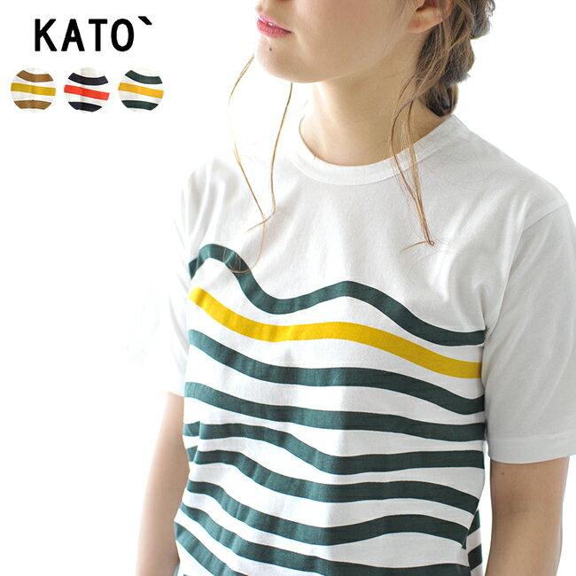 【3個1対象商品】KATO` カトー ワインディングボーダー ベーシック 定番 半袖 Tシャツ・KC822631 #0613