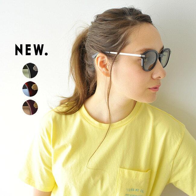 【SALE!40%OFF】NEW. ニュー DONAC セル×メタル コンビネーション ウェリントン型 サングラス 眼鏡 #0628【セール】【返品交換不可】【SALE】