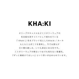 カーキ/kha:kiリブコードパンツ/RIBCODEPANTSストレッチリブコーデュロイスリットイージーパンツMIL-19FPT111